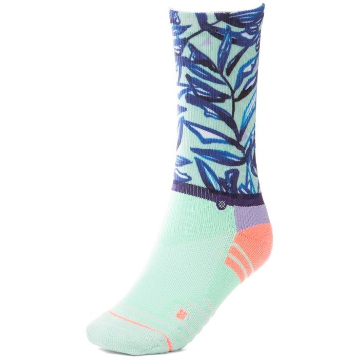 Stance Mint Tree Crew Fusion Athletic Socks - Women's