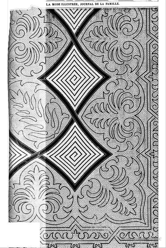 La Mode illustrée: journal de la famille - Google Books soutache embroidery pattern