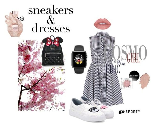 """#sneakersanddresses"" by rawal-sadhana on Polyvore featuring Izabel London, Chiara Ferragni and SNEAKERSANDDRESSES"