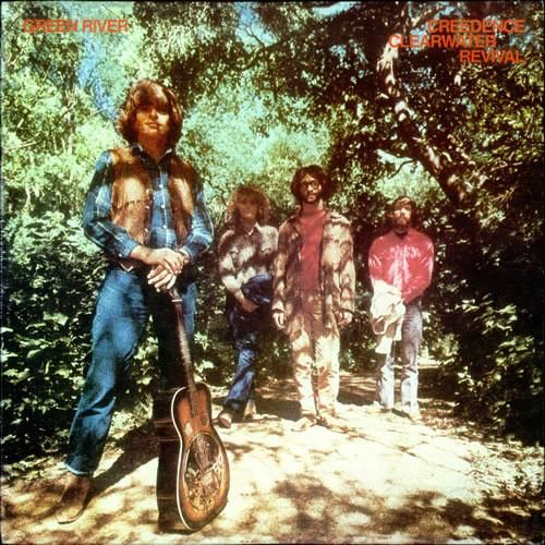 USED VINYL RECORD 12 inch 33 rpm vinyl LP Released in 1969, Fantasy Records (8393) Green River is the third album from Creedence Clearwater Revival. Side 1: Green River Commotion Tombstone Shadow Wrot