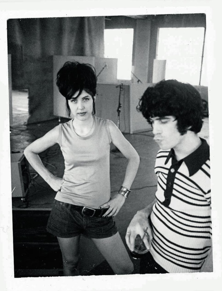 Michelle Mae and Ian Svenonius - MAKE UP RECORDING AT (THE OTHER) DUB NARCOTIC STUDIO  (PHOTOGRAPH BY TAE WON YU)