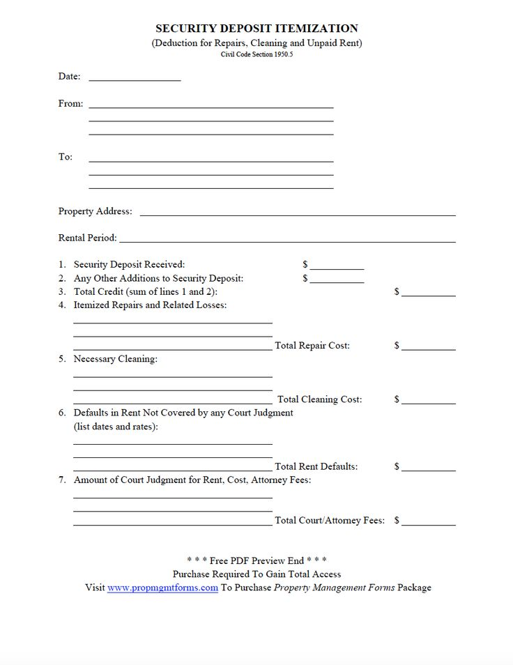 Best Property Management Forms Images On   Pdf