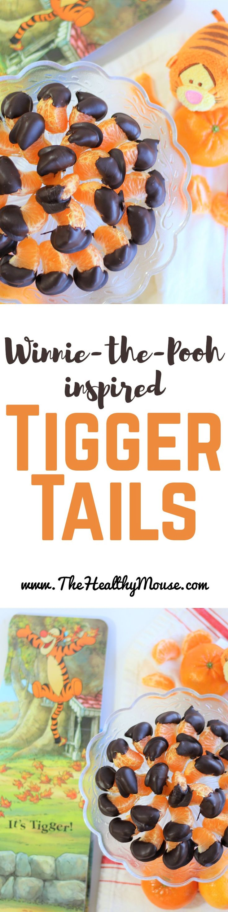Tigger Tails - Healthy Winnie the Pooh Inspired Recipe - Disney Recipe -Disney Dessert - Winnie the Pooh Party - Tigger Recipe -Disney Family - #DisneyWeekend