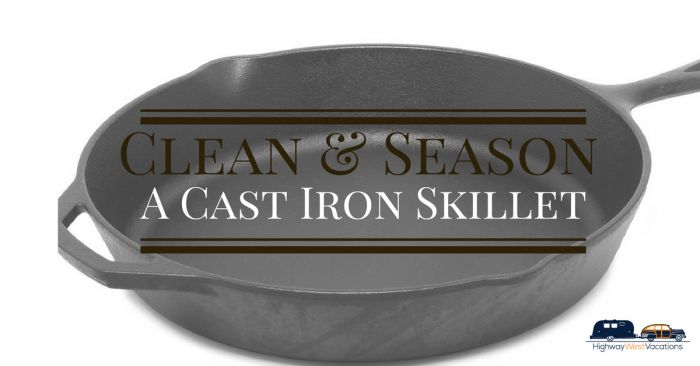 #Castironskillets are standard tools in a camper's arsenal of #cooking gear and…