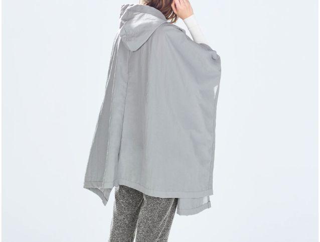 raincoat from zara
