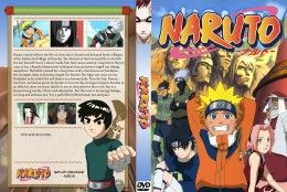 Naruto DVD cover