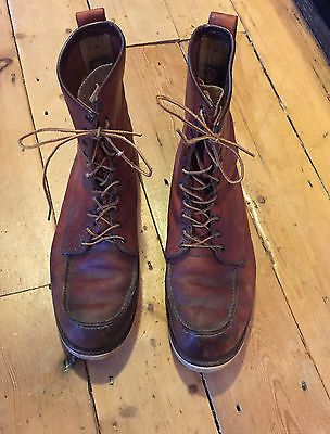 Vintage 1960's red wing #irish #setter #boots uk 13 us 14 877,  View more on the LINK: http://www.zeppy.io/product/gb/2/172110098978/