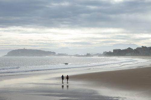 Playa de El Sardinero #Santander #Cantabria #Spain