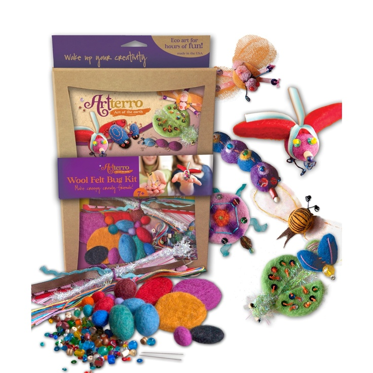48 best craft kits images on pinterest activities for for Best craft kits for kids