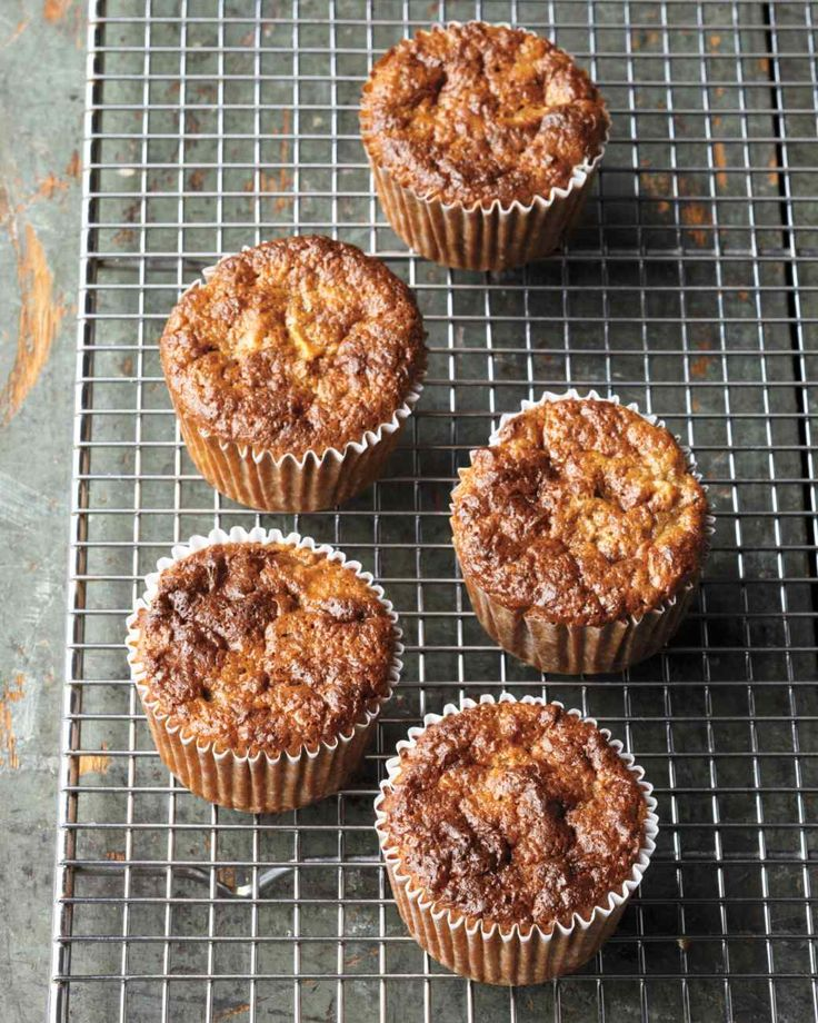 Sugar-Free Muffins 1/2 cup buckwheat flour 2 tsp baking powder 1 tsp ground cinnamon 1/4 tsp coarse salt 4 large eggs  Eggs Large White $0.69 thru 05/07   1 banana, mashed 1/2 cup honey 1 sweet apple, such as honeycrisp, peeled, cored, and finely diced 1/2 cup chopped walnuts