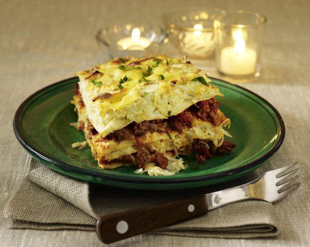Unser beliebtes Rezept für Sauerkraut-Lasagne und mehr als 55.000 weitere kostenlose Rezepte auf LECKER.de.