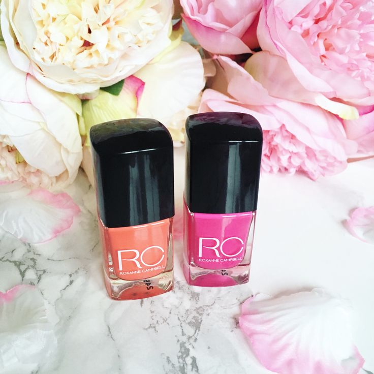 I was kindly contacted by the lovely Roxanne Campbell to pick a couple of shades from her new Summer collection to try, test and review and share with you gorgeous readers. I picked my two favourit…