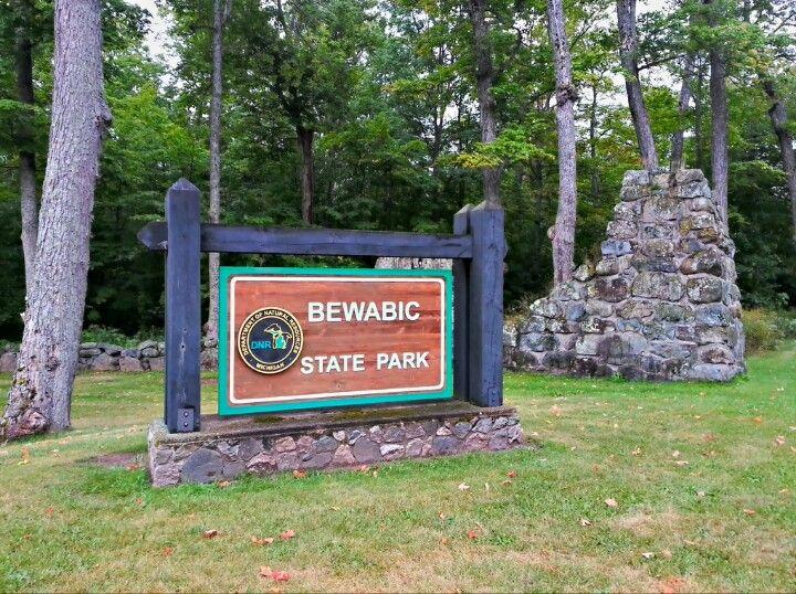 Bewabic State Park In Crystal Falls Mi Camping