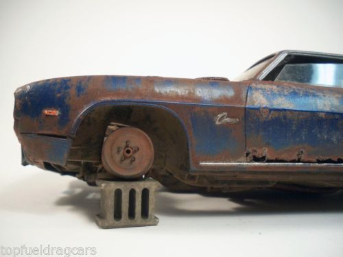 1969 Chevy Camaro Chevrolet Pro Built Weathered Barn Find Custom 1 25 Revell