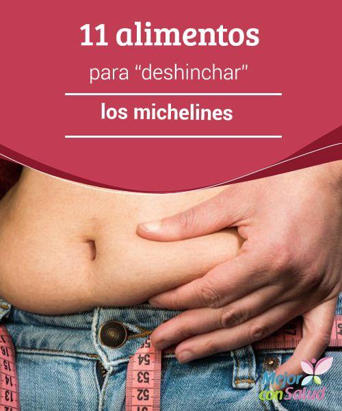 """11 alimentos para """"deshinchar"""" los michelines  La alimentación saludable está relacionada a un vientre plano y a un mejor rendimiento tanto en los deportes como en la vida cotidiana."""