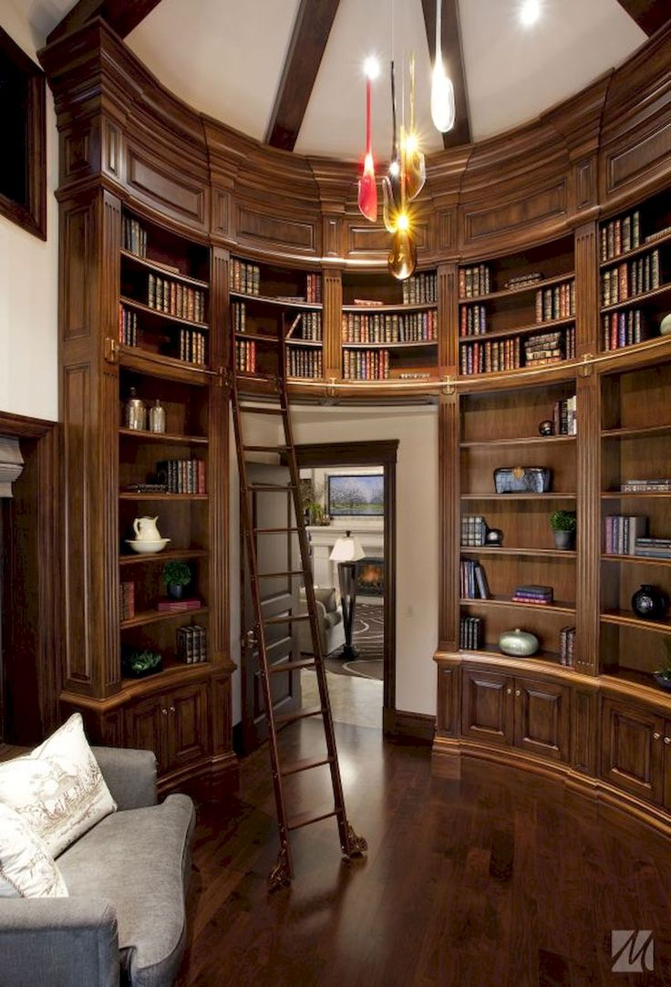 Interior design for home library - 1345 Best Libraries Images On Pinterest Books Dream Library And Home Libraries