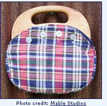Plaid Bermuda bag aka Pappagallo Purse (Photo credit: Mable Studios) ~}{~ I