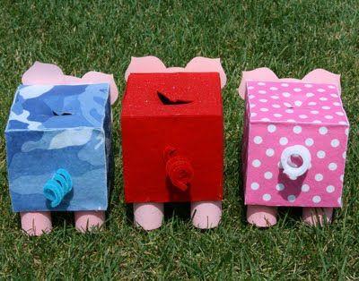 Smart-Bottom Enterprises: Piggy Bank Kid Kit