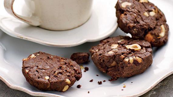 Пряное шоколадное печенье с фундуком . Пошаговый рецепт с фото, удобный поиск рецептов на Gastronom.ru