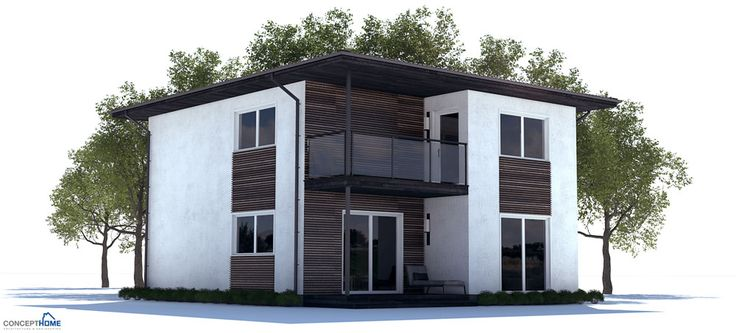 Affordable home design with three bedrooms open planning for Affordable garage plans