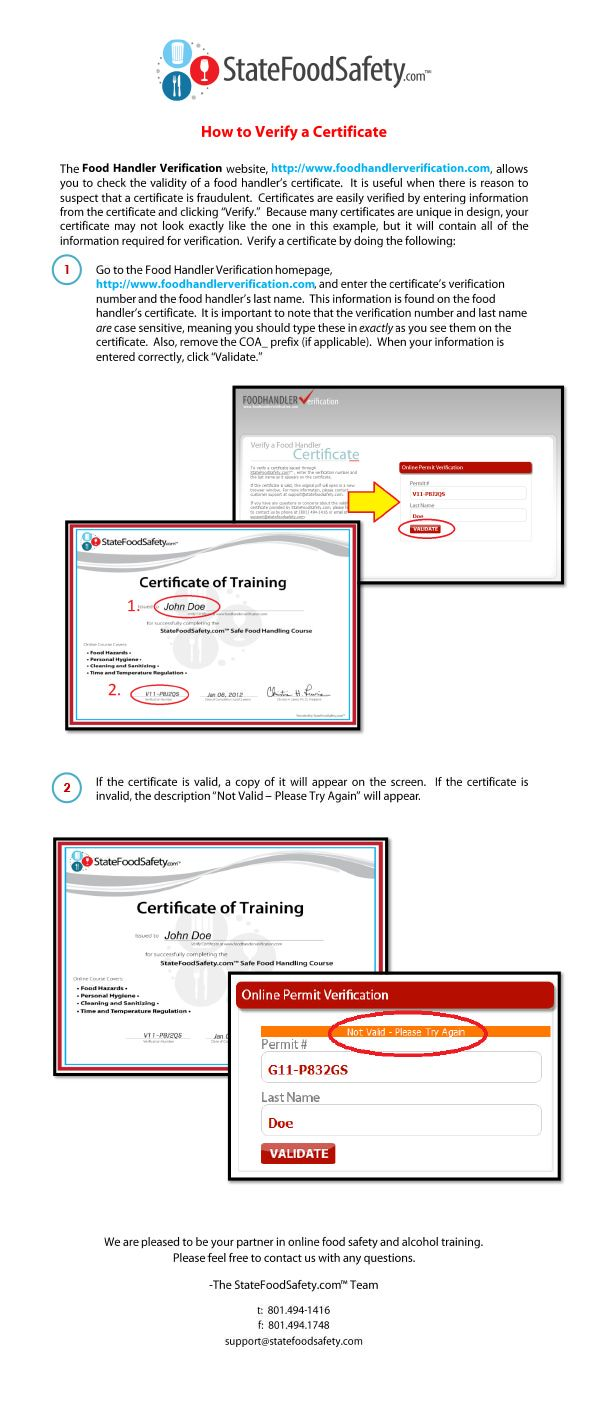 121 best training and education images on pinterest food safety food safety training tutorial on how to verify a certificate on our website 1betcityfo Gallery