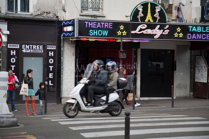 Street life, Paris.