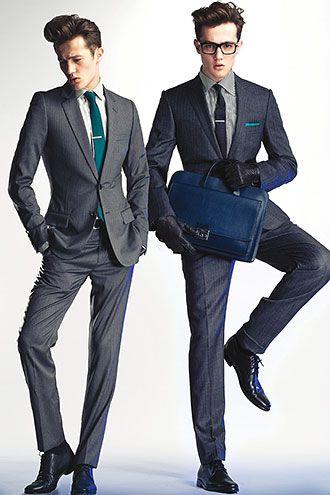 グレースーツの着こなし・合わせ方 | スーツスタイルWEB