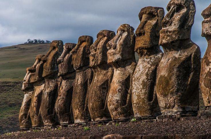 The 15 Moai, Ahu Tongariki | Easter Island