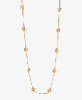 Flower Charm Necklace | FOREVER 21 - 1021839602
