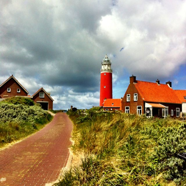 Lighthouse Texel, june 2012