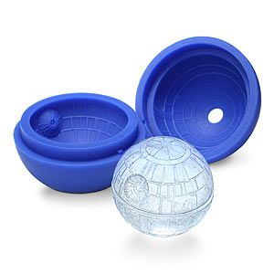 ThinkGeek :: Death Star Ice SPHERE Mold starwars deathstar