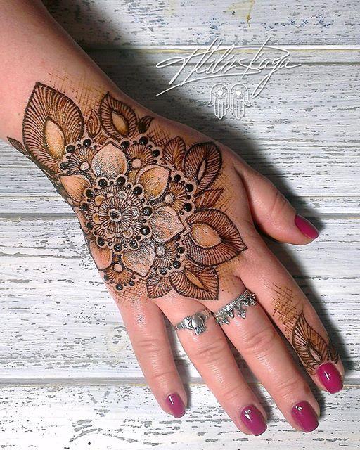 Henna Untuk Alis: Hand Henna, Mehndi Designs, Henna