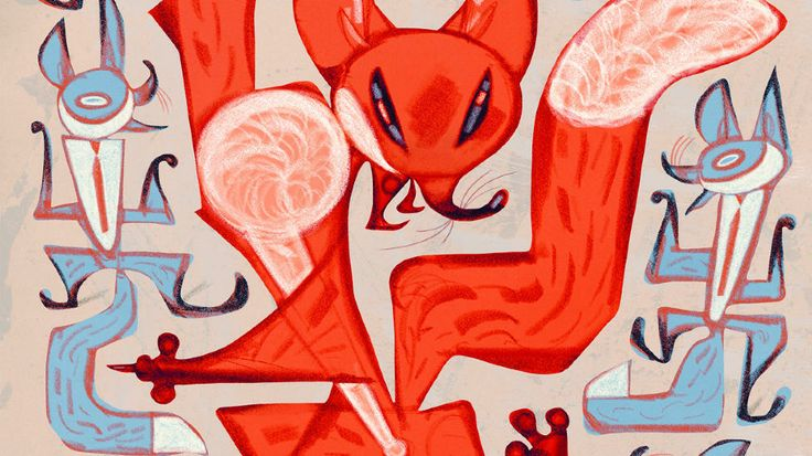 """Svein Nyhus """"The Fox"""""""