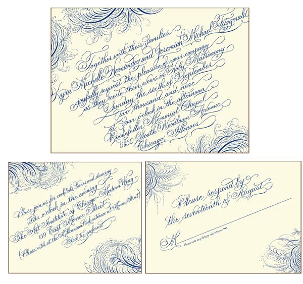 25 Best Images About Wedding Calligraphy By Artful