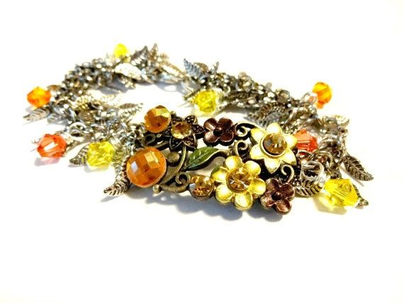 Hey, I found this really awesome Etsy listing at https://www.etsy.com/listing/203780402/autumn-boho-bracelet-made-with-swarovski