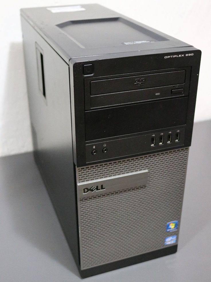 Dell OptiPlex 990 MT Quad i7-2600 3.4GHz, 8GB RAM, 500GB HD, DVD+RW, WIN 7 Pro.