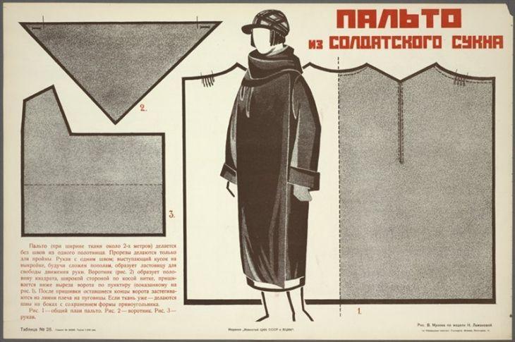 Советские выкройки из подручных материалов / Выкройки ретро / ВТОРАЯ УЛИЦА