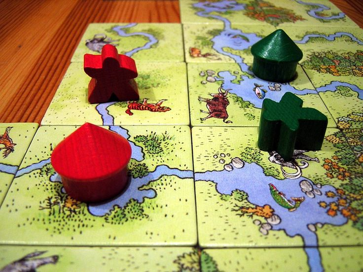 Carcassonne: Hunters and Gatherers | The fisher and the hunter