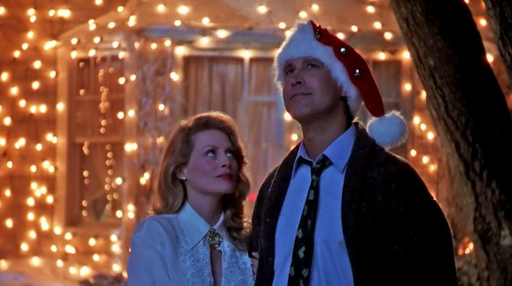National Lampoons Christmas Vacation - Chevy Chase and Beverly D'Angelo - 1989