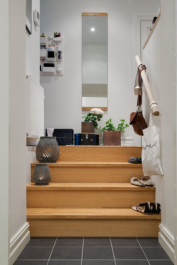 Small areas of the day: At the top of the stairs - PLANET DECO a homes world