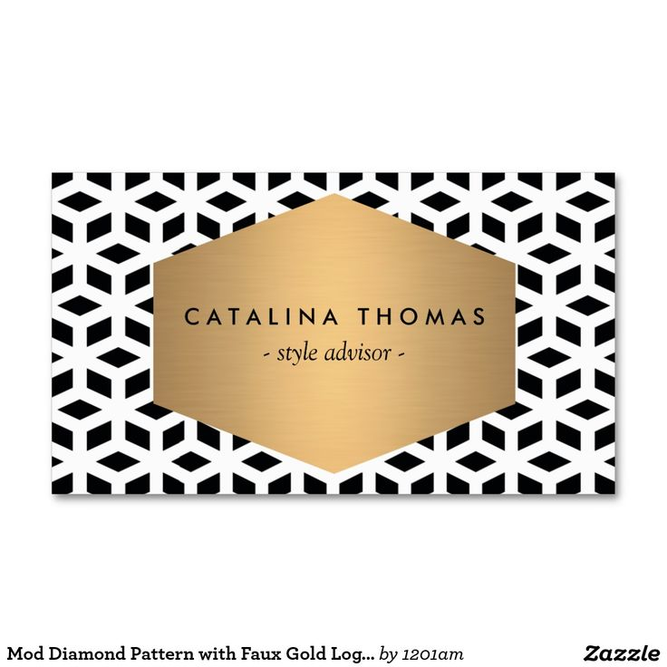 Customizable Business Card For Interior Designers Stylists Bloggers And More