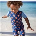 Boys Octopus Sunsuit  Ages 0 to 3