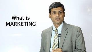 1. What is Marketing  Marketing Management Video Lecture by Prof. Vijay Prakash Anand