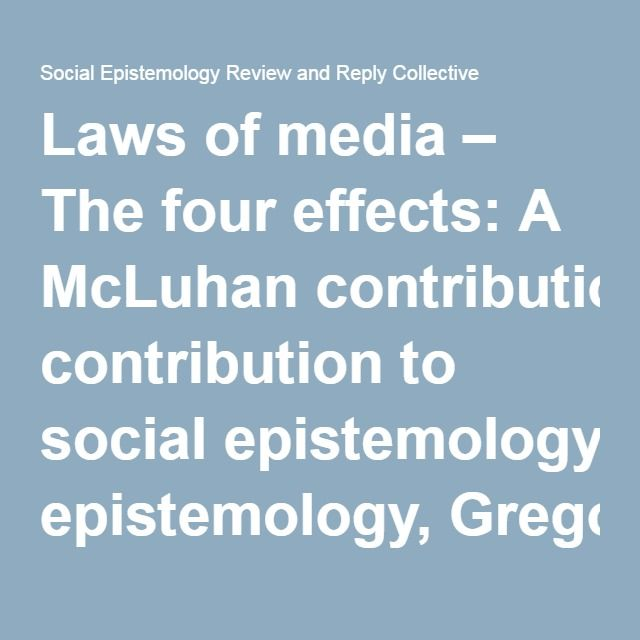 8 best aperitive petreceri copii images on pinterest candy bars laws of media the four effects a mcluhan contribution to social epistemology gregory fandeluxe Choice Image