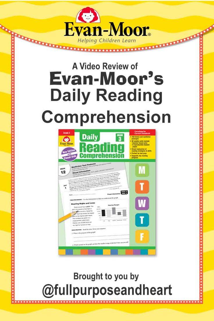 Pin On Evan Moor Homeschool Reviews Evan moor reading comprehension