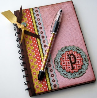 Kat's Stampin and Scrap Pad: Altered Items to Match My Recipe Box