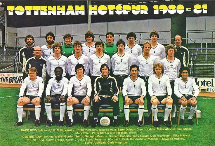 TOTTENHAM HOTSPUR FOOTBALL CLUB, 1980-81