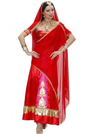 Chica hindu