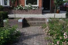 Jaren30woningen.nl | Detail van een voortuin van een #jaren30 woning