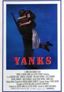 """Янки (1979): Действие фильма происходит во время Второй мировой войны в Великобритании незадолго до операции в Нормандии. Американские солдаты ожидают в небольшом английском городке начала операции. Местные же насмешливо называют американцев """"янки""""."""